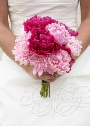 букет невесты на собственных стеблях