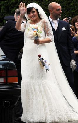 Свадебное платье Lily Allen от Delphine Manivet