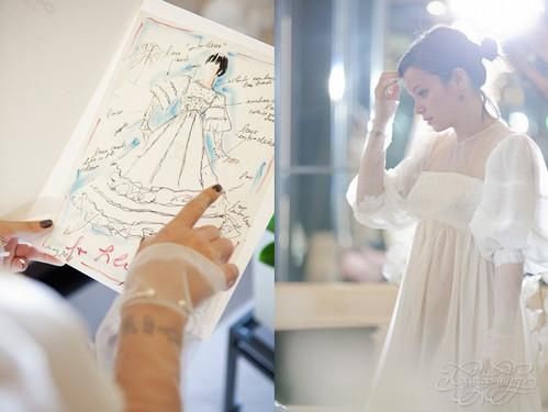 Свадебное платье Lily Allen от Karl Lagerfeld