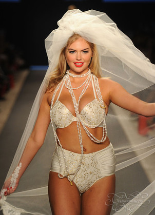 Свадебное платье с купальником