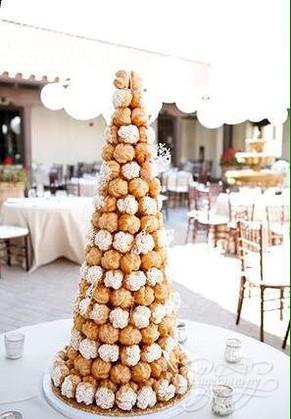 Кондитер придумал торт крокембуш